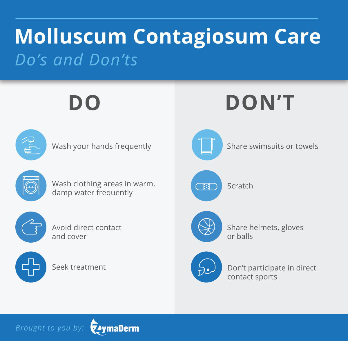 Dos & Don'ts of Molluscum Contagiosum Care